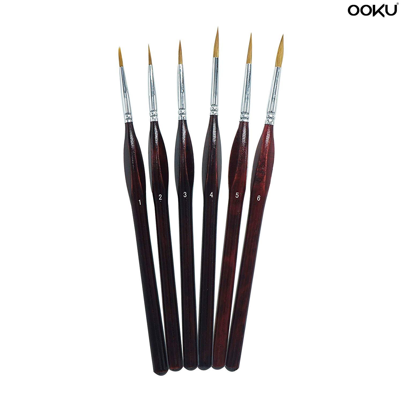 Round Brush Size 3 2 Face Painting Brushes Creative Face Painting Brush Professional Set 1 Round Brush Size 4